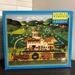 Charles Wysocki Americana 1000 piece puzzle